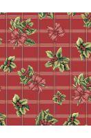 Вафельное полотенце Рождественский букет - 47*70