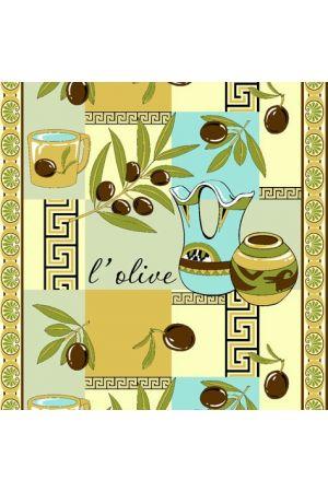 Вафельное полотенце Оливки 1 - 50*70