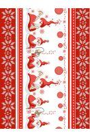 Вафельное полотенце Санта - 50*70