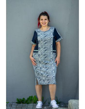 Платье №5563, р. 48-64