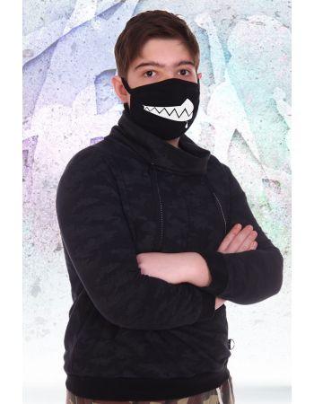 Повязка на лицо Зубастик (подростковая)