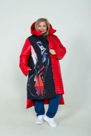Куртка демисезонная №6075, р. 54-70