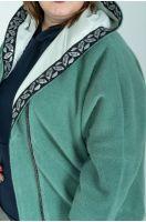 Пальто демисезонное №6064, р. 66