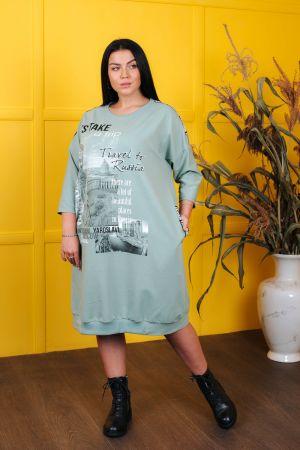 Платье 4546, р. 56-70