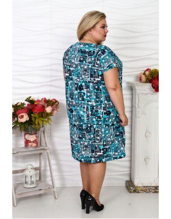 Платье-туника №63, р. 60-70