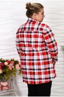Блуза-рубашка №25, р. 62-72
