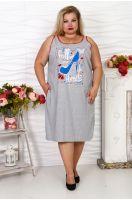 Платье-туника №55, р. 60-70