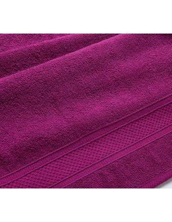 Полотенце махровое Яркая-Фуксия