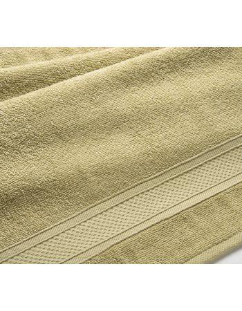Полотенце махровое Оливковое