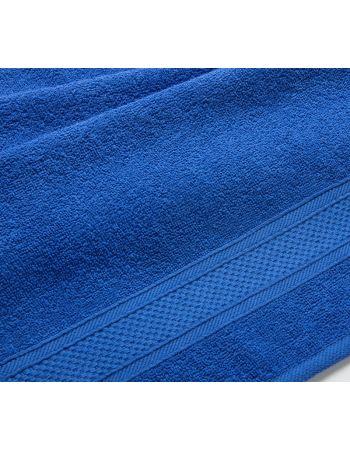 Полотенце махровое  Синее