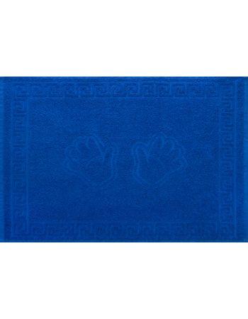 Полотенце махровое Ручки синее